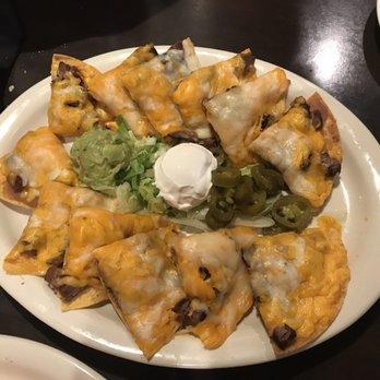 beef fajita nachos