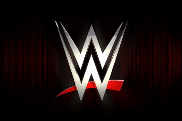 WWE logo black background